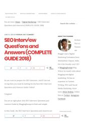 SEO Interview Questions and Answers (COMPLETE GUIDE 2018).pdf