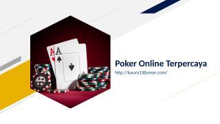 Poker Online Terpercaya.ppt