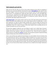 Intel network card and nic.pdf