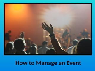 How to Manage an Event.pptx