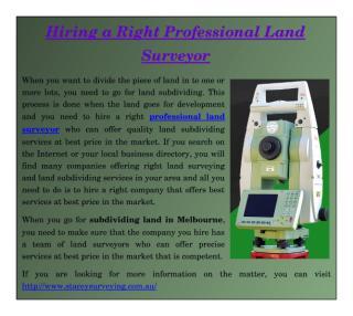 Hiring a Right Professional Land Surveyor.pdf