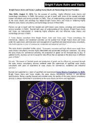 Bright Future Astro and Vastu_ Leading Vastu Shastra & Numerology Service Providers.pdf