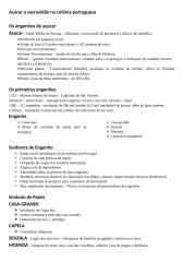 história do brasil - açúcar e escravidão na colônia portuguesa (engenhos).doc