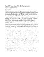masalah umat islam kini dan penyelesaian -prof. dr. haron din...pdf